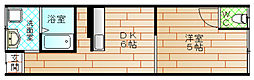 [テラスハウス] 大阪府大阪市此花区伝法3丁目 の賃貸【/】の間取り