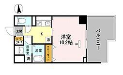 仮称)D-room大今里西[10階]の間取り