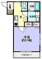 Cell Cube枚方[1階]の間取り