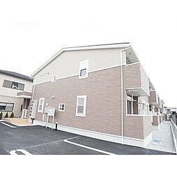 京都府木津川市相楽の賃貸アパートの外観