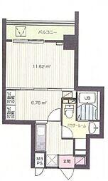 Supre新横浜[3階]の間取り