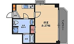 ディナスティ福島2[5階]の間取り