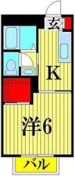 Granceed komiya[2階]の間取り