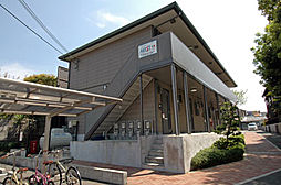 奈良県奈良市川上町の賃貸アパートの外観