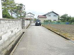 前面道路 1m