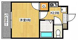 ピュアリティ筑紫野[4階]の間取り