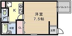 栗原マンション[101号室]の間取り