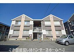 大阪府枚方市大峰元町2丁目の賃貸アパートの外観