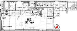 ROOM駒沢[1階号室]の間取り