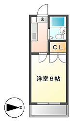 ラフィーネ岩塚[1階]の間取り