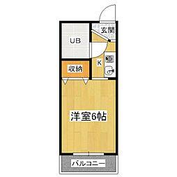 VIP大宅[2階]の間取り