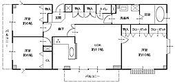 東京駅まで直通・3沿線利用可能・JR蘇我駅徒歩14分 高山ビル[2階号室]の間取り