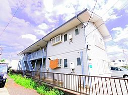 東京都清瀬市中里4丁目の賃貸アパートの外観