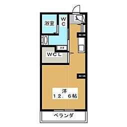 BEREO SANKOU[1階]の間取り