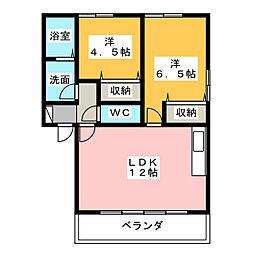 葵[2階]の間取り