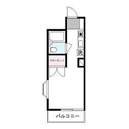 ペガサスマンション百合ヶ丘[3階]の間取り