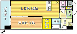 ADVANCE128(アドバンス128)[13階]の間取り