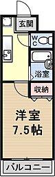 エクセルナカムラ[303号室号室]の間取り