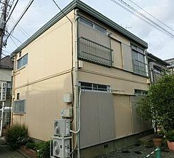 東京都板橋区仲町の賃貸アパートの外観