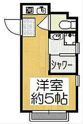 マンション大和[3階]の間取り