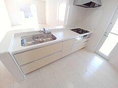 スライド収納、浄水式メタルシャワー水栓
