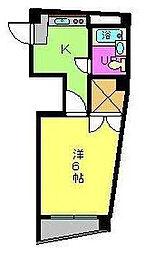 愛媛県松山市湊町2丁目の賃貸マンションの間取り