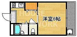 ヤスミマンション[303号室号室]の間取り