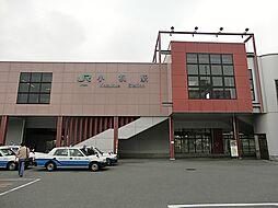 JR「小机」駅...