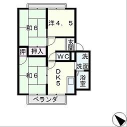 リンデンバウム[2階]の間取り