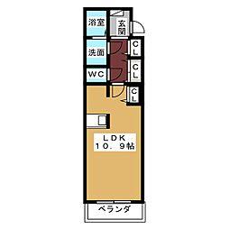 ルミナス大幸[2階]の間取り