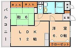T・MORI[4階]の間取り
