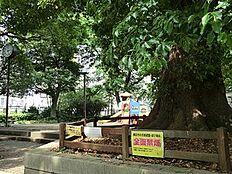 周辺環境:高輪一丁目児童遊園