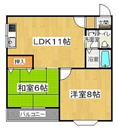 日栄ビル3号館[2階]の間取り