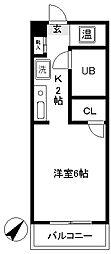 豊田ガーデンハイツ[111号室]の間取り