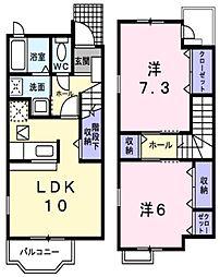 [テラスハウス] 兵庫県神戸市垂水区南多聞台3丁目 の賃貸【/】の間取り