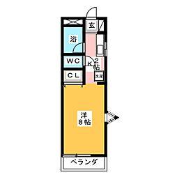 MAK前橋II[2階]の間取り