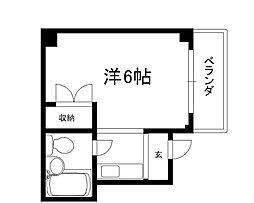 KIマンション[401号室]の間取り