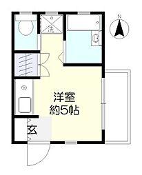 石井マンション[2階]の間取り