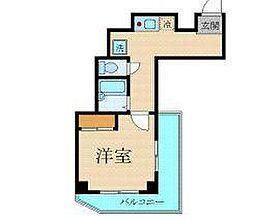 プレール渋谷壱番館[4階]の間取り