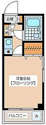 梅丘ミモザ館[1階]の間取り