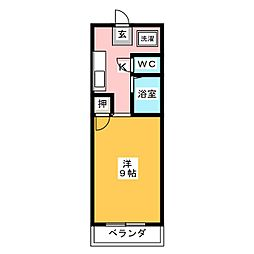 ラフィーネ四条堀川[11階]の間取り