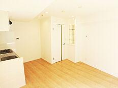 キッチンが壁付なので、LDKが広く使えます。