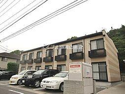 岡山県玉野市築港4丁目の賃貸アパートの外観