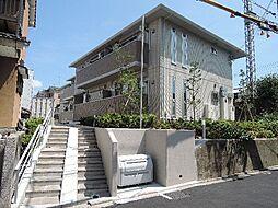 京都府京都市伏見区桃山町金森出雲の賃貸アパートの外観