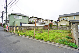 39坪以上の広々とした整形地です。二世帯住宅も建築いただけます。