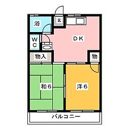 小島マンション[2階]の間取り