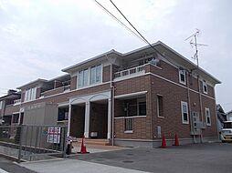 大阪府堺市北区野遠町の賃貸アパートの外観