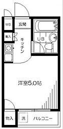 シェ・モワ荻窪 A館[403号室]の間取り