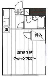 ニューセイコーマンション[101号室]の間取り