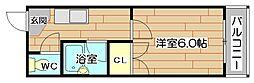 コーポサカイ[1階]の間取り